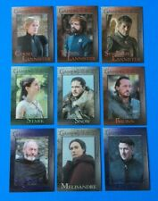 Lot of 20 Diff . 2018 GAME of THRONES Season 7 ,CERSEI ,TYRION , LANNISTER , etc