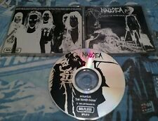 NAUSEA Extinction The Second Coming CD 1993 VERY RARE OOP THRASH ORIG 1st PRESS!