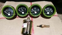 24v Electrical Gauges 52mm  - Oil Pressure Temp Fuel Volt with Senders