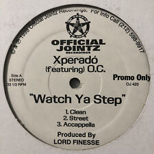 "XPERADO - WATCH YA STEP / ANIMOSITY (12"")  1998!!  RARE!!  O.C. + LORD FINESSE!!"