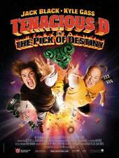 TENACIOUS D IN: THE PICK OF DESTINY Movie POSTER 27x40 French Jack Black Kyle