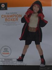 Halloween Boys Champion Boxer Costume Size 4-6 Small up to 46.5 in Chest NWT