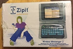 Zipit Z2 Wireless Messenger Color Screen Keyboard Wireless Arduino Alternative