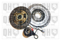 Clutch Kit 3pc (Cover+Plate+CSC) fits OPEL CORSA D 1.0 06 to 14 190mm QH Quality
