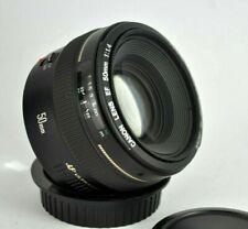 Canon EF 50mm F1.4 EF FAST USM FULL FRAME LENS UK SELLER