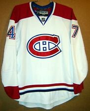 MONTREAL CANADIENS SULLIVAN White #47 Hockey NHL Size 56 Authentic JERSEY