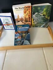 Lot Of 4 Travel & Fishing Books Fish Saltwater Fishing