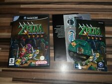 gamecube ZELDA Four Swords Adventures Legend Of Game RARE Nintendo PAL UK