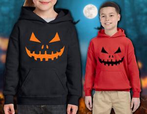 Halloween Pumpkin  - Kids Hoodie Sweatshirt