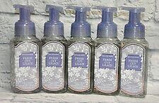 5 BATH & BODY WORKS FRESH CUT LILACS GENTLE FOAMING HAND SOAP WASH 8.75 FL OZ