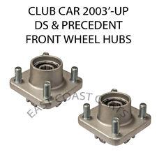 Club Car DS & Precedent Golf Cart 2003-up Front Wheel Hub (2) HUBS 1023577-01
