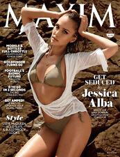 MAXIM September 2014 Jessica Alba Steve McQueen Style Goldfinger turns 50 +++