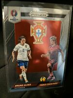 2016 Panini Prizm UEFA Euro Soccer Country Combos Bruno Alves & Fabio Coentrao