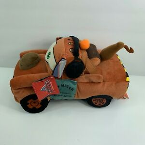 """TOW MATER 15"""" Plush Soft Toy Doll Disney Cars Truck Radiator Springs Plush Tags"""