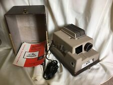 Vintage Keystone 2x2 Slid Projector K-310 With Instructions And Case WORKING!
