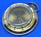 VTG Roxhall Swiss Lady Mystery Dial Hand-Wind Necklace Pendant Pocket Watch Hour