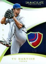 YU DARVISH 2015 IMMACULATE COLLECTION SWATCHES LAUNDRY TAG PATCH 1/3!! FREE SHIP