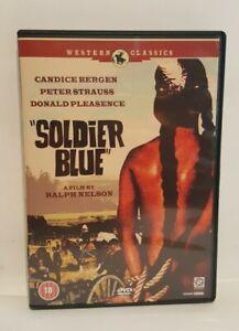 Soldier Blue (1970) DVD Candice Bergen Peter Strauss, UK R2 DVD