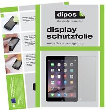 2x Apple iPad (2018) Schutzfolie matt Displayschutzfolie Folie Display Schutz