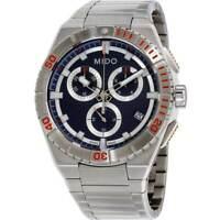 Mido Men's Watch Ocean Star Sport Chrono Stainless Steel Bracelet M0234171104100