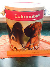 (OOP) Out of Production *Eukanuba* [METAL] Dog Food Storage Container (ASPCA)