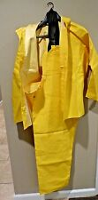 NWT Dutch Harbor Gear Rainsuit Hood Jacket w/ Suspender Pant Style 191.73 Size M