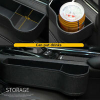 Car Seat Center console Gap Storage Drink Pocket Organizers Interior Accessories