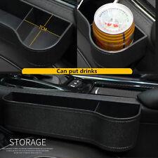 Car Seat Center console Gap Storage Drink Pocket Organizers Interior Accessories