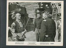 ROCK HUDSON + SEMINOLE INDIAN IN WESTERN FORT - 1953 SEMINOLE