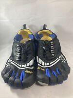 Vibram Five Fingers KMD Sport YLS M3785 Shoes Men's Komodo Black Grey Sz 42 US 9