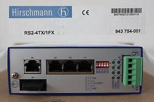 Hirschmann INET Ind. Ethernet Switch RS2-4TX/1FX
