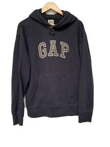 Men's Navy GAP Logo Hoodie Sweatshirts size S