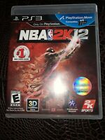 NBA 2K12 -- Game of the Year Edition (Sony PlayStation 3, 2012)