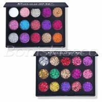 15 Colors Eyeshadow Palette Diamond Eye Shadow Shimmer Matte Cosmetic Makeup Kit