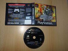Juego Sony PlayStation PS1 ex Alquiler-núcleo blindado