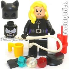 BM047 Lego Catwoman Minifigure with Weapons &  Accessories NEW