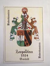 Gmünd-KVM Leopoldina-Cantines Bloc de Construction-Armoiries/Studentika