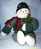 """Christmas Snowman Centerpiece Holiday Decoration, Unique Christmas Decor 12"""""""