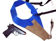 JAMES BOND LEATHER SHOULDER HOLSTER CONNERY STYLE GOLDFINGER FOR WALTHER PPK