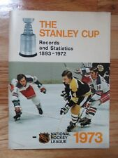 1973 NHL STANLEY CUP Records & Statistics BOSTON BRUINS Bobby Orr Phil Esposito