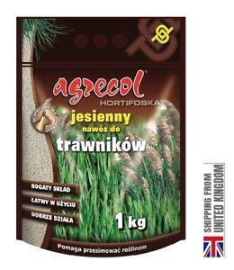 Autumn Lawn Fertilizer, No Nitrogen, 1 kg -AGRECOL