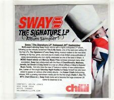 (GT747) Sway, Album Sampler - DJ CD