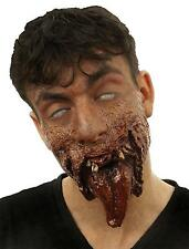 DR TUNG GRUESOME GORY TONGUE LOWER JAW RIPPED OFF ZOMBIE COSTUME CSWO751
