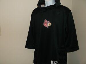 Louisville Cardinals Adidas Hoodie Sweatshirt Men's XL nwt Free Shipping