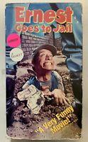 Ernest Goes To Jail VHS Jim Varney VHSshopCom