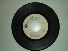 "Stevie Wonder / Rodolfo Banchelli  –Disco Vinile 45 Giri 7"" Ed.Promo Juke Box"
