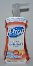 DIAL COMPLETE CITRUS SUNBURST FOAMING HAND SOAP WASH ANTIBAC 7.5 OZ FOAM