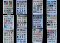 World Stamp Collection From Italy & United States, Free Shipping Worldwide