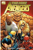 New Avengers Vol 1 by Bendis & Immonen 2011, HC Marvel Comics Sealed OOP