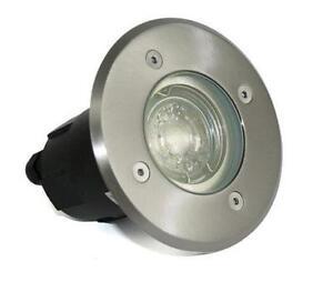 230V 5W = 50W LED LM Bodeneinbauleuchte Bodo Aussen Terrasse Garten Outdoor IP67